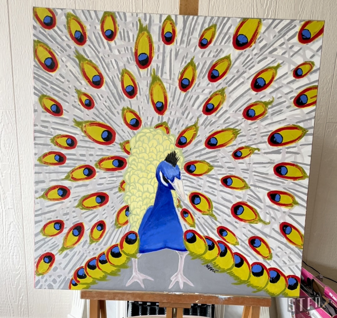 Painting-all-eyes-on-me