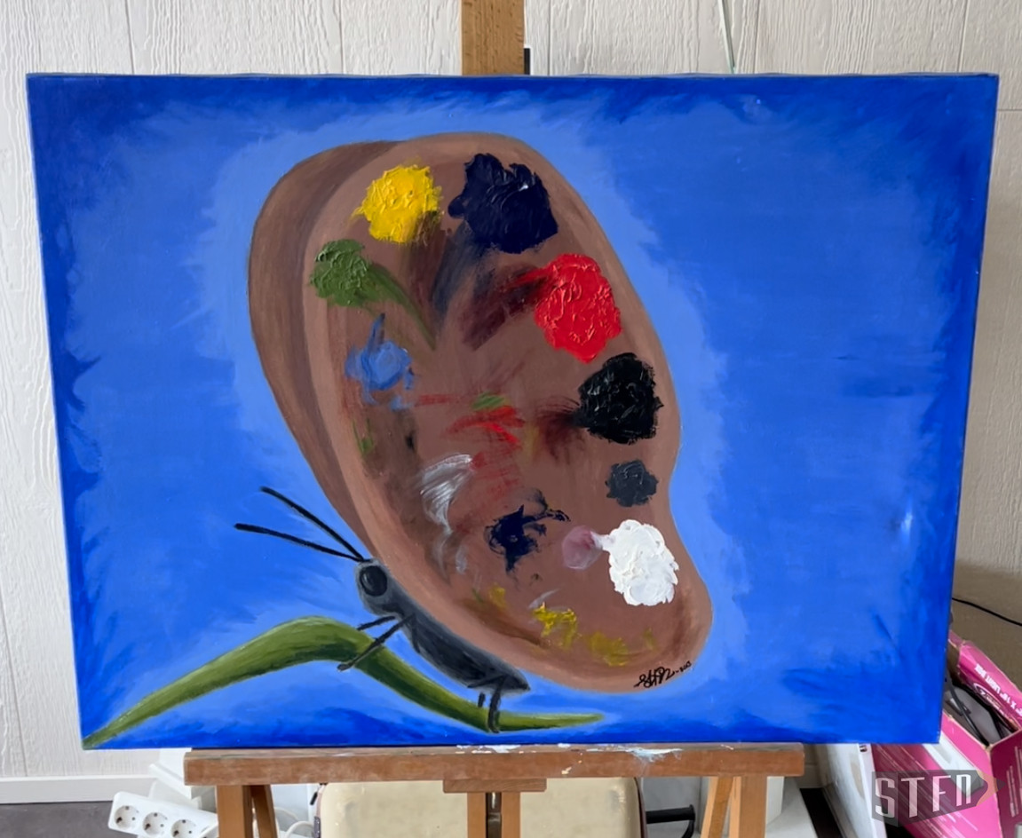 Painting-create-your-butterfly